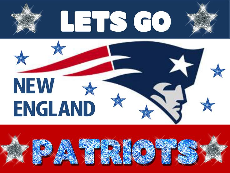 New England Patriots! They have a game today they are winning!!!!