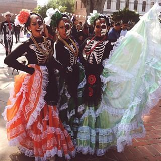 These are some pictures from recent years. These pictures have to do with Dia de los Muertos.
