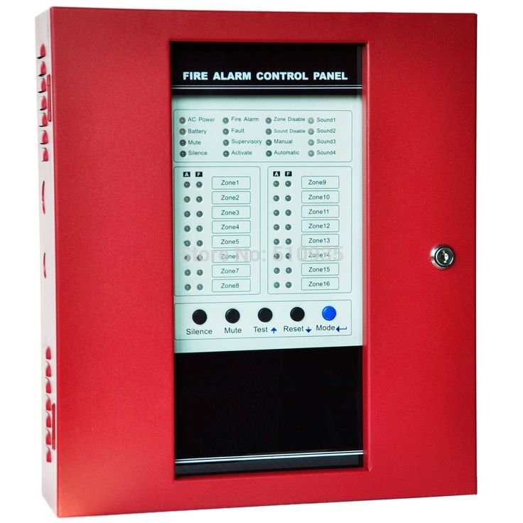 Fire Alarm Panel CJ-F1016 16 Zones Conventional Fire Alarm Control Panel- 16 Zone, 4 Sound Output Fire Alarm System