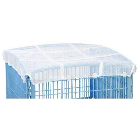Iris Mesh Roof for 4-Panel Pet Pen, White