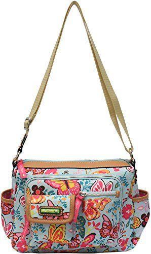 Lily Bloom Libby Butterfly Crossbody Handbag