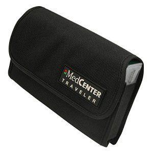 MedCenter Traveller : pilulier de voyage compact hebdomadaire (7 jours) avec sa pochette en nylon. Idéal lorsque vous quittez votre…