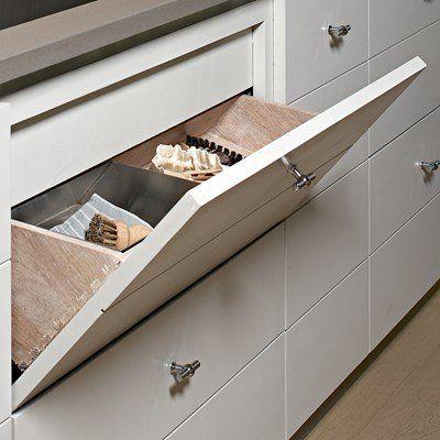 Sink cabinet drawer