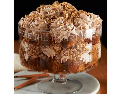 QVC Jill Bauer's Pumpkin Toffee Crunch Trifle! YUM!!!