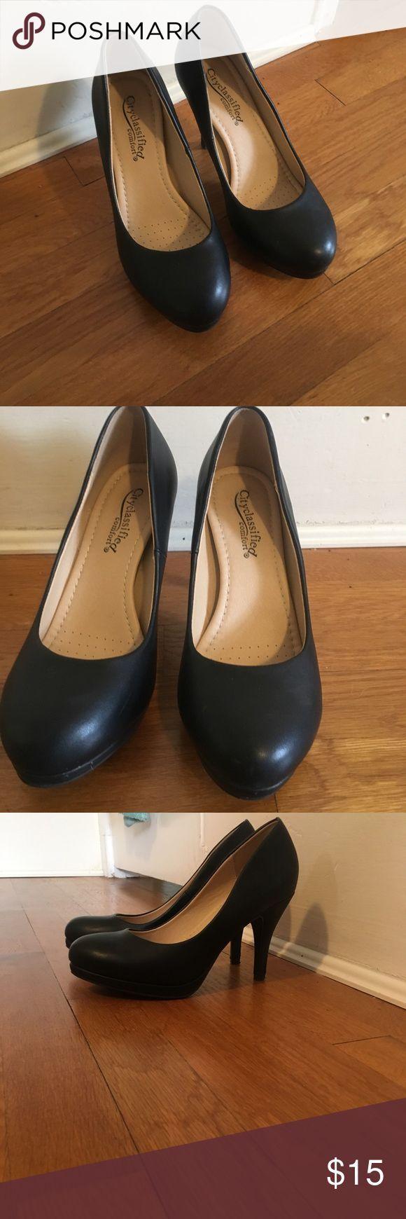 CityClassified comfort black pumps Great black heels for work or formal events! …