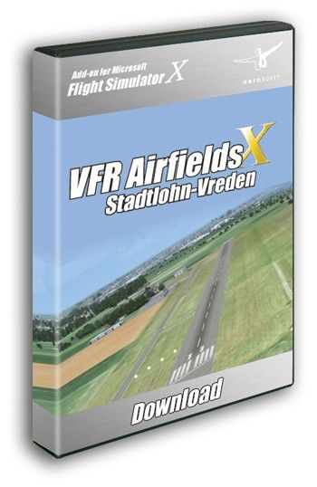 """AEROSOFT : VFR Airfields - Stadtlohn-Vreden (EDLS) The LimeSim Airfields is a new airfield series covering smaller to medium sized airfields done by the well-known developer who also worked on projects like """"VFR Germany"""", """"German Airfields"""" and created """"LuklaX - Mount Everest"""".  About the airfield Stadtlohn-Vreden is an important GA and commercial airfield close to the Dutch border. The scenery includes the new 2009 runway extension from 980 to 1200 meters length and from 20 to 30 meters…"""