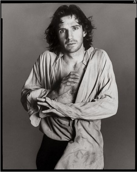 Richard Avedon. Actor Ralph Fiennes Playing Hamlet, London, 1995.