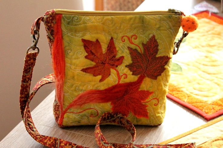 Little autumn bag - September 2015 - by melipatch