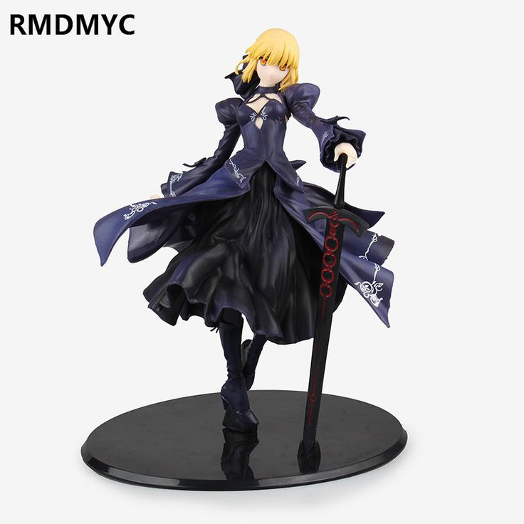 ==> [Free Shipping] Buy Best RMDMYC 27cm High Quality Fate/stay Night Saber Action Figure Toys Cute Cartoon Girsl Black Full Dress Saber Collectible Kid Toys Online with LOWEST Price | 32801802103