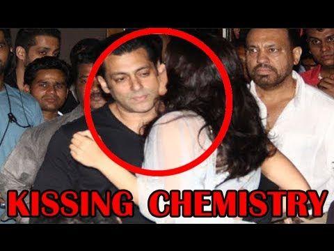 Salman Khan, Jacqueline Fernandez Kissing Chemistry at 'Kick' Trailer Launch.