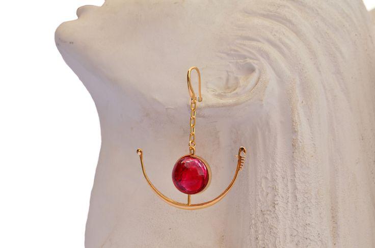 Murano_Gondola earring of Red Carpet Collection by GILDA VENEZIA