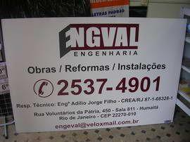 ::::: A A A Casa das Letras Comunicação Visual Ltda. ::::: Placas de Obra