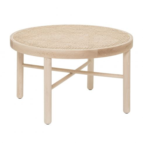 Bloomingville Luna Coffee Table Nature Beech