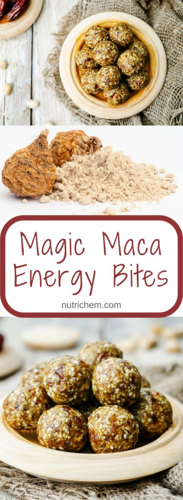 Magic Maca Energy Bites - NutriChem recipe