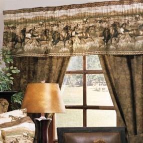 Wild Horses Window Treatment Drapery Ideascurtain Ideasrustic Western Decor Roomsbedding Decorliving Room