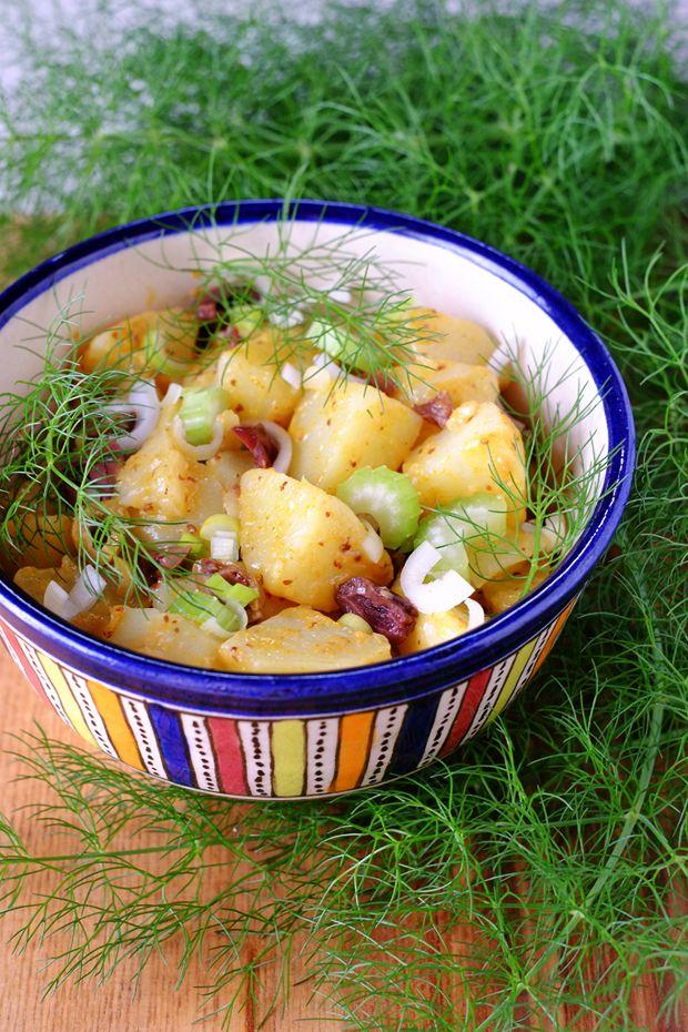 Insalata di patate novelle alla senape con finocchietto selvatico - GranoSalis - Blog di cucina naturale e consapevole
