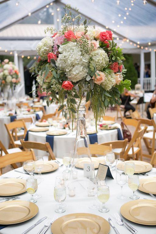 9/26   Whitehead Manor Wedding Reception Photography: Old South Studios  Florist: Pink Petunia  #whiteheadmanorweddings #charlotteweddings #southernweddings #goldweddings #blushweddings #outdoorweddings