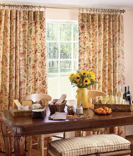 Additional Views: Hatfield Lined Rod Pocket Curtains