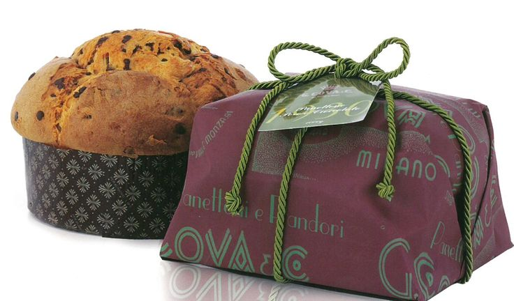 Panettone with Pears & Chocolate (1kg) //