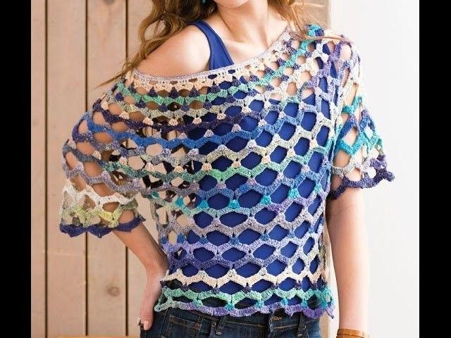 Más de 1000 ideas sobre Blusas Tejidas en Pinterest | Croché, Blusas ...