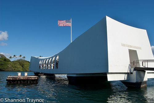 If you ever get a chance to visit Hawaii, Pearl Harbor will take your breathe away...