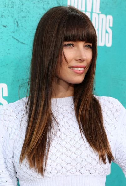 medium length haircut for 25 best ideas about highlighted bangs on cut 3277