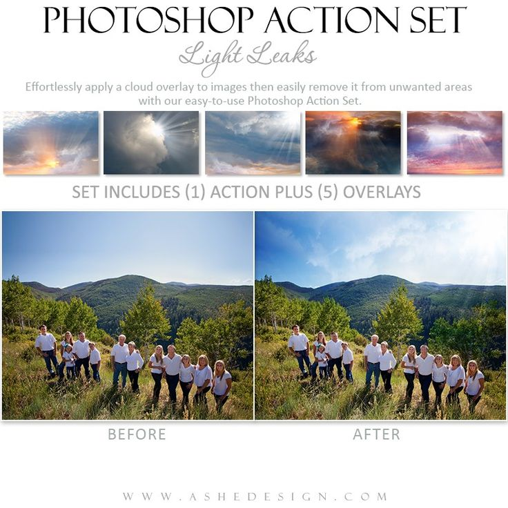 how to run an action in photoshop