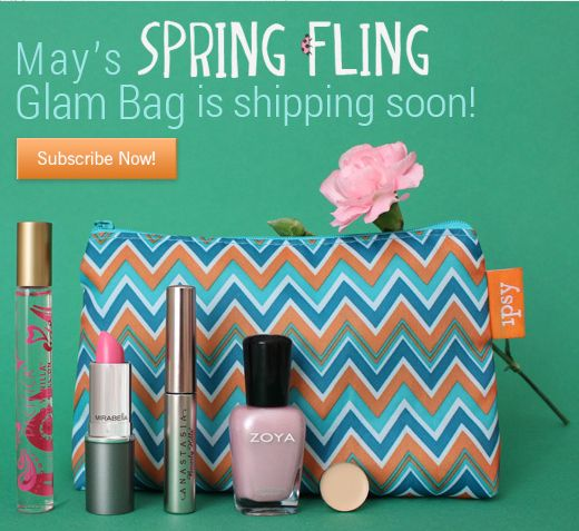 Ipsy Glam Bag May 2013 Spoilers - Monthly Makeup Subscription