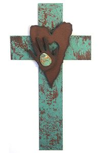 I know I probably have enough wall crosses, but this one is beautiful. It's called the radiant love cross. <3