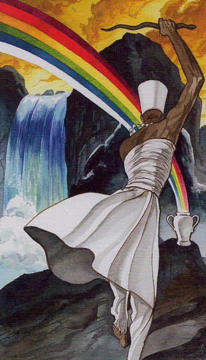 Oxumaré  (Tarot Card) Afro-Brazilian