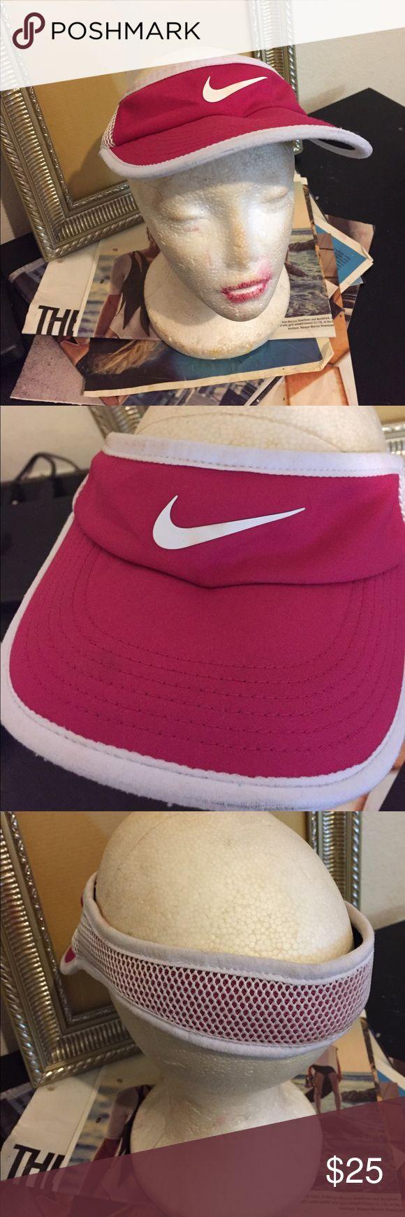 Nike sun visor Pink netted Nike sun visor Accessories Hats