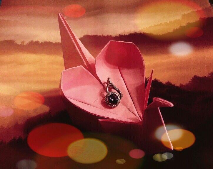 origami love heart instructions