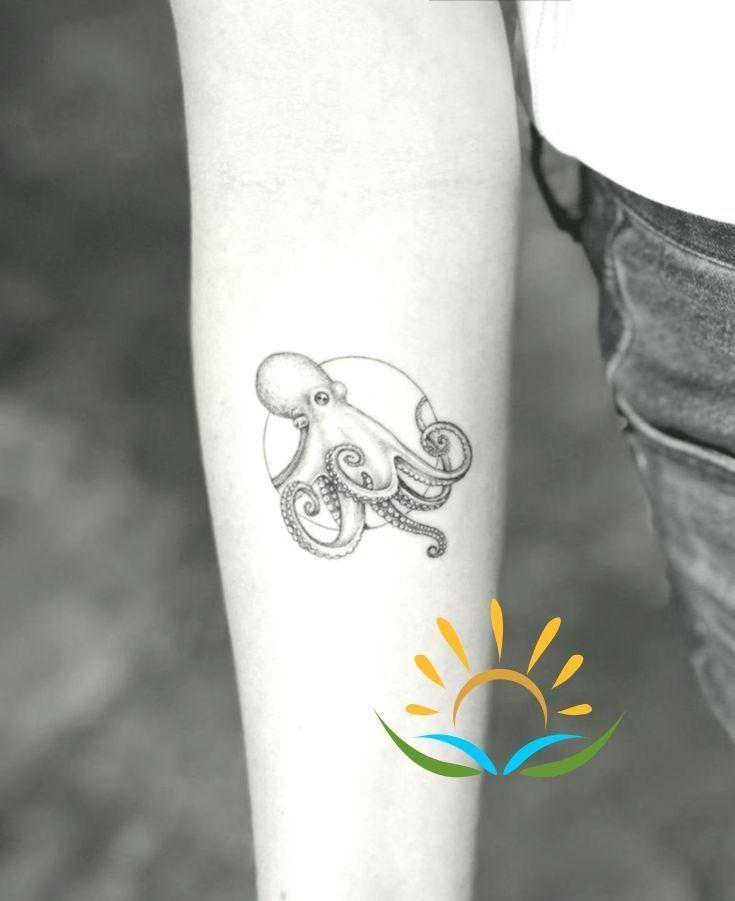 Ihr Mikro Riesen Pacific Octopus Tattoo.,  #ihr #Mikro #Octopus #octopustattooleg #Pacific #R…