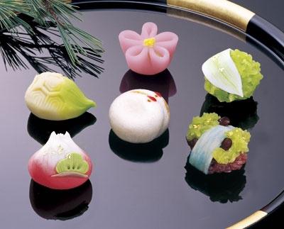 Wagashi - NewYear Sweets - Japan