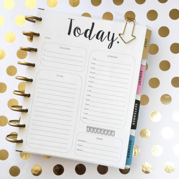 I love the weekly format of the Happy Planner for my home planning needs, but sometimes I have a very busy day and I feel like I need more.  Often I just reply on  a notepad for those days, …