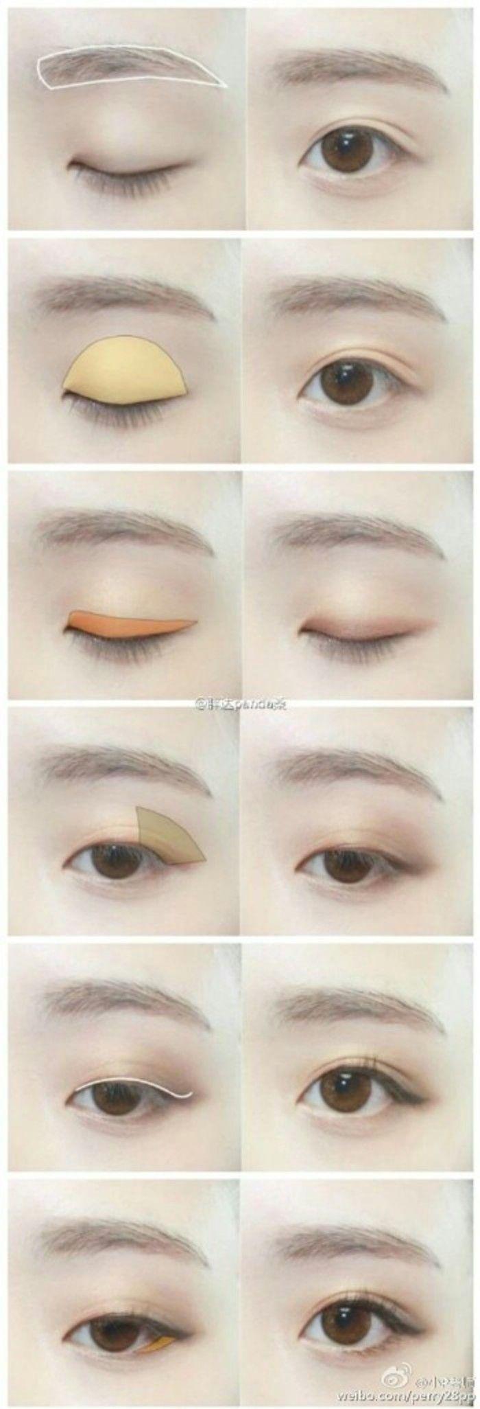 Big eye natural make up #make up #idea