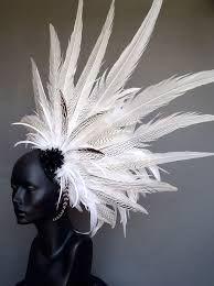 「feather headdress wedding」の画像検索結果