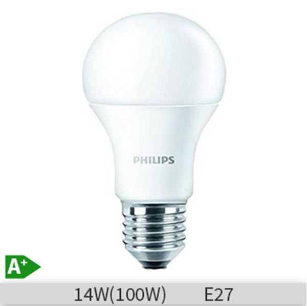 Bec LED Philips standard COREled A60 14W 827 E27, 871869649082200 http://www.etbm.ro/tag/148/becuri-led-e27