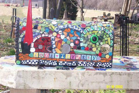 letter to my husband 344 best mosaic mailboxes images on mosaic i 9341
