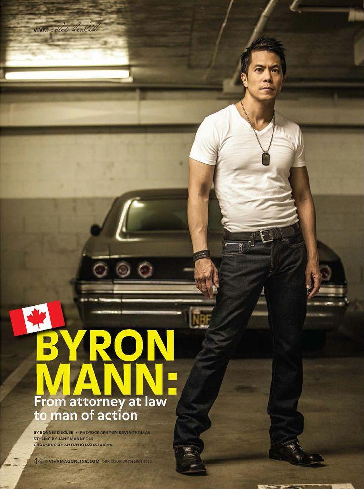 BYRON MANN, #Man_With_The_Iron_Fist, #Arrow, #Viva_Magazine