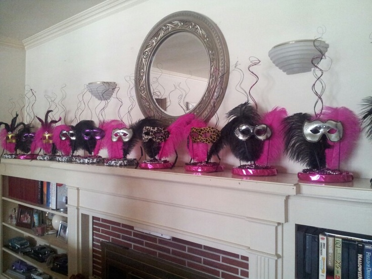Centerpieces for Sweet 16 Masquerade party | Party decorating | Pinterest | Sweet 16 masquerade, Masquerade party and Sweet 16