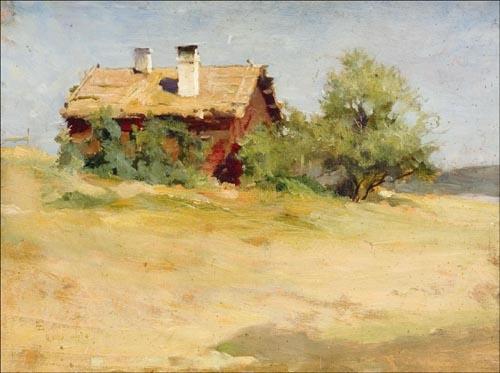 Inspirational Artworks: Edelfelt Albert landscapes