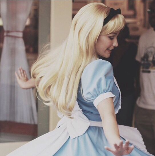 2. Work at Disneyland. I don't know if I have enough acting experience to play a character (plus I'm too short to play any of the princesses!), but honestly, I would take any job I could get my hands on at Disneyland. Even if I just wind up picking up trash along Main Street!