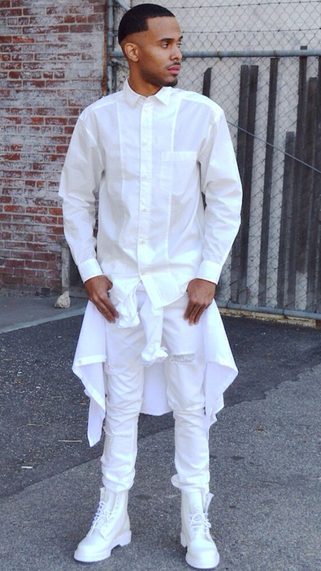 Don't see how people wear all white but looks sharp