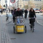 Photo report from Copenhagen. Lots of families on cargo bikes.