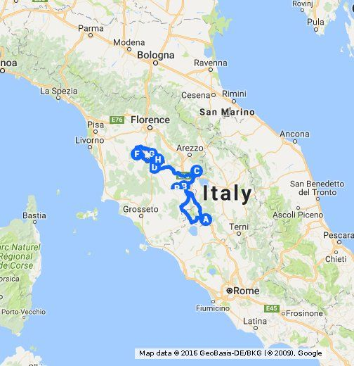 The Worst Out Of State Drivers In Your State: 1000+ Ideas About Map Of Tuscany On Pinterest