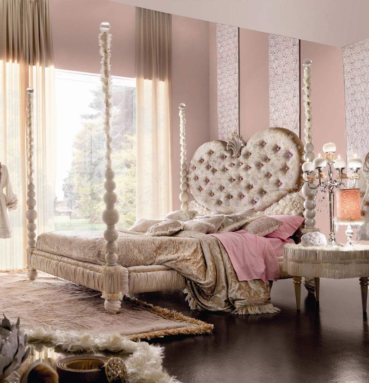 Elegant Lovely Luxury Pink Bedroom By AltaModa | Luxury Bedroom Furniture | Imagine  Living
