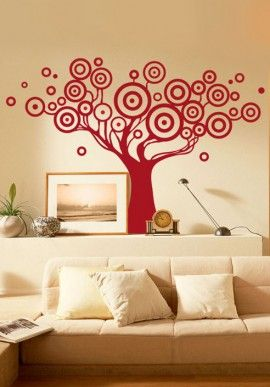 Wall sticker - Tree 70s BUY IT NOW ON www.dezzy.it!