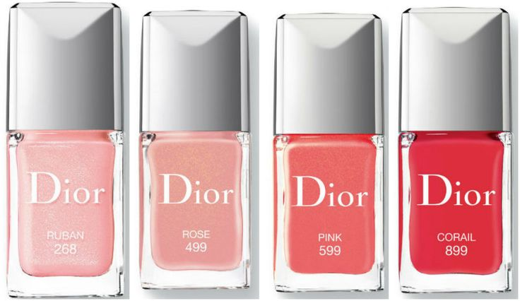 новые лаки диор весна лето 2015  Dior Vernis Gel Shine Long Wear Nail Lacquer new 2015