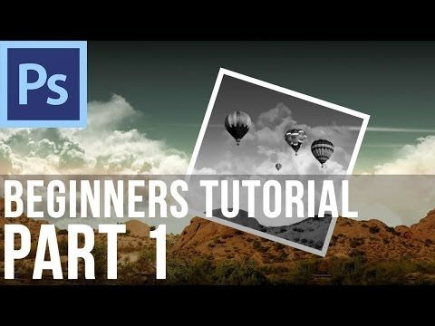 Adobe Photoshop CS6 Tutorial for Beginners (Part 1) - YouTube